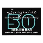 50th SUPRISE Birthday Party Invite Template V1 13 Cm X 18 Cm Invitation Card