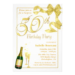 50th Surprise Birthday Party - Custom Invitations