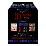 50th Surprise Birthday Party Invitation for Men