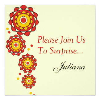 50th Surprise Party Invitations