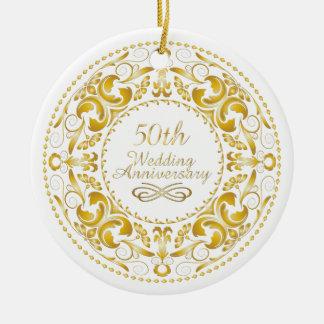 50th Wedding Anniversary 9 - Ornament