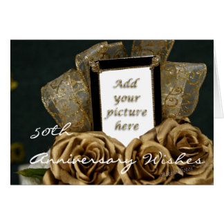 50th Wedding Anniversary Card-customize Card