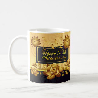 50th Wedding Anniversary Gift Mug