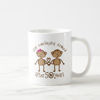 50th Wedding Anniversary Gifts Basic White Mug