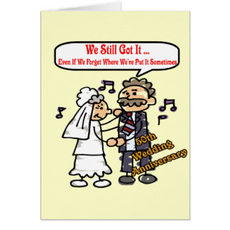 50th Wedding Anniversary Gifts Cards
