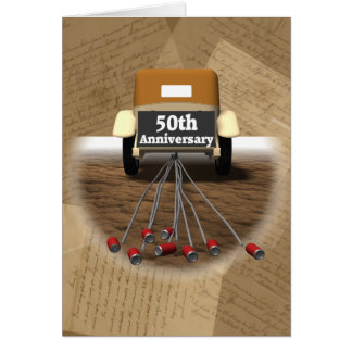 50th Wedding Anniversary Gifts Greeting Card