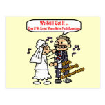 50th Wedding Anniversary Gifts Post Card
