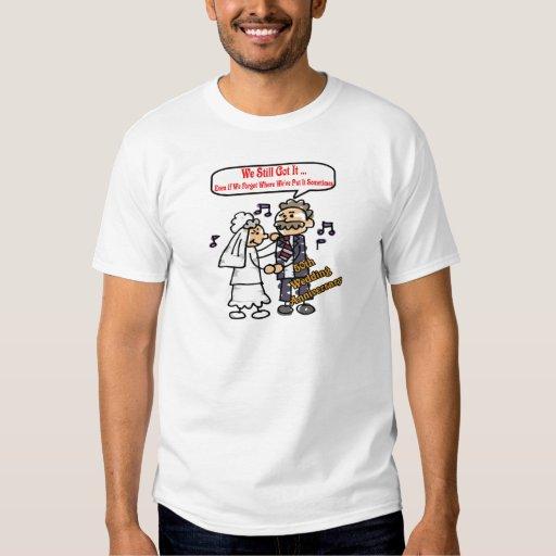 50th Wedding Anniversary Gifts T-shirts