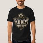 50th Wedding Anniversary (Husband) Tee Shirts