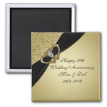 50th Wedding Anniversary Magnet