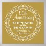 50th Wedding Anniversary Personalised