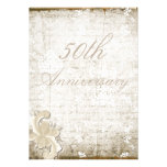 "50th Wedding Anniversary - ""Telemark"" Personalized Invites"