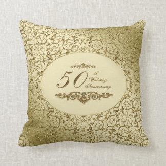 50th Wedding Anniversary Throw Pillow Throw Cushion