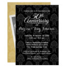 50th Wedding Anniversary with Photo on One Side Card