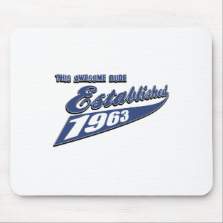 50th year birthday designs mousepads