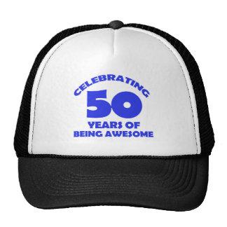 50th year old designs trucker hat