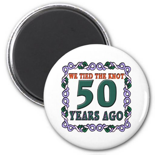 50thweddinganniversary magnet