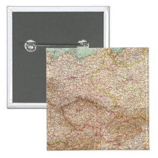5152 Germany, Poland, Czechoslovakia 15 Cm Square Badge