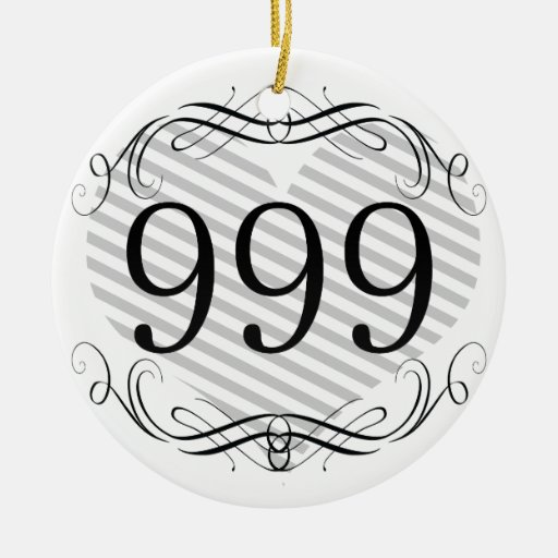 518 Area Code Christmas Ornaments