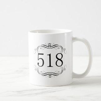 518 Area Code Coffee Mugs