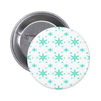 518 Cute Christmas snowflake pattern.jpg 6 Cm Round Badge