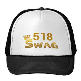518 New York Swag Mesh Hat