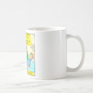 518 youre bad luck cartoon basic white mug