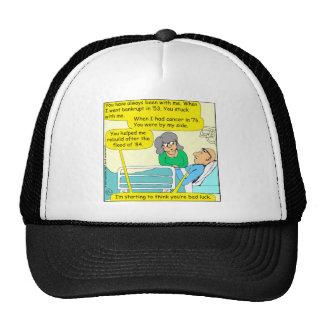518 youre bad luck cartoon trucker hat