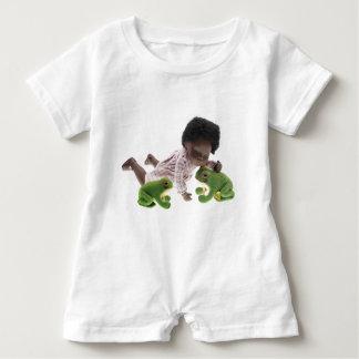 519 Sasha Cara Black baby Baby Bodysuit