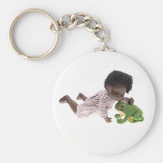 519 Sasha Cara Black baby key supporter Key Ring
