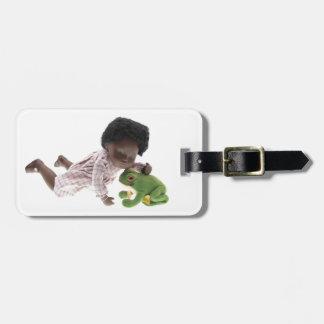 519 Sasha Cara Black baby luggage supporter Luggage Tag