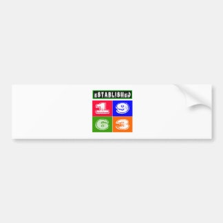 51 Birthday Designs Bumper Stickers