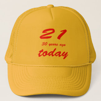 51 birthday trucker hat