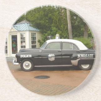 '51 Chevrolet Police Car Coaster