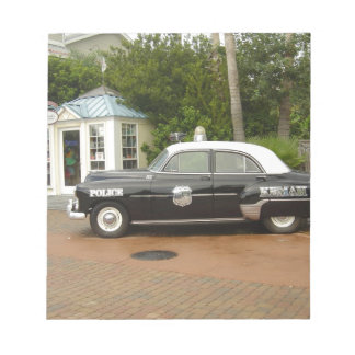 '51 Chevrolet Police Car Notepad