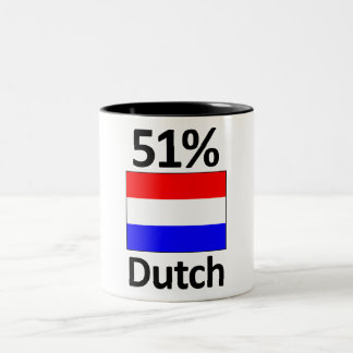 51% Dutch Two-Tone Coffee Mug
