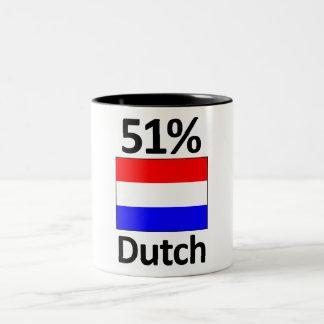 51% Dutch Two-Tone Mug