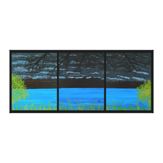 51' x 22' - Picture  Tranquility Canvas Print