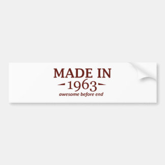 51 years Old birthday designs Car Bumper Sticker