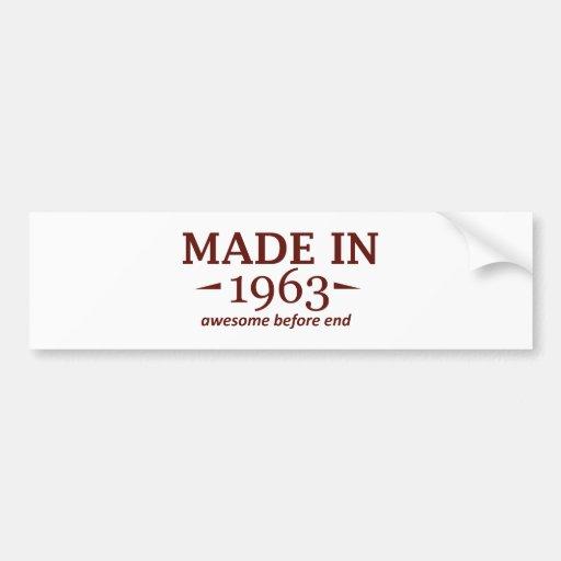 51 years Old birthday designs Bumper Sticker