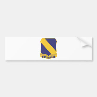 51st Infantry Regiment Bumper Sticker