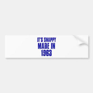 51years Old Birthday Designs Bumper Sticker