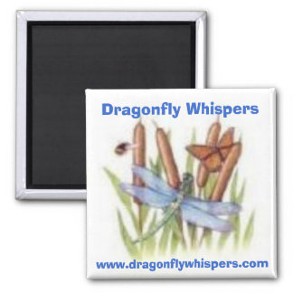 520116453, Dragonfly Whispers, www.dragonflywhi... Magnet