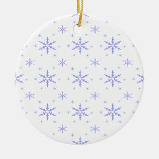 520 Cute Christmas snowflake pattern.jpg Christmas Ornament