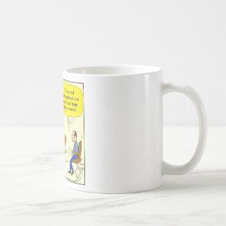 525 hippo violation cartoon basic white mug