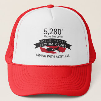 5280 Mile High Scuba Club Hat