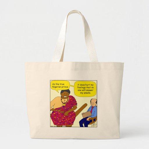 529 nigerian prince cartoon bags