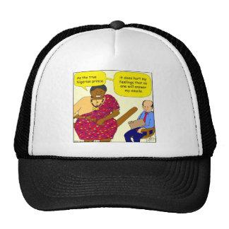529 nigerian prince cartoon hats