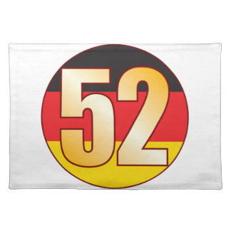 52 GERMANY Gold Placemat