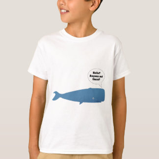 52 Hertz - The Loneliest Whale in the World T-Shirt